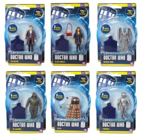"""New Doctor Who 3.75"""" Scale Figures - Wave 1 by Underground Toys"""