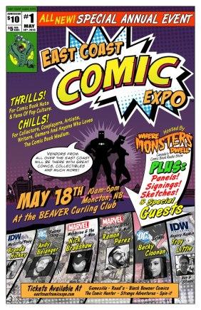 East Coast Comic Expo 2013