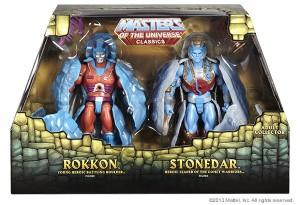 MattyCollector MOTUC Comet Warriors 2 Pack SDCC 2013 Exclusive