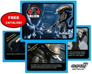 Super7 SDCC 2013 Exclusive Alien ReAction Figure Catalog