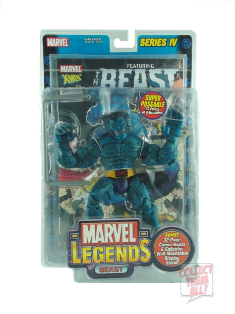 Marvel Legends Beast Action Figure by Toy Biz
