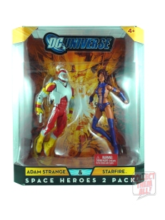 DC Universe Classics Space Heroes 2 Pack