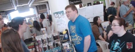 Darryl Wall of Giant Robot Comics at DCAF 2013