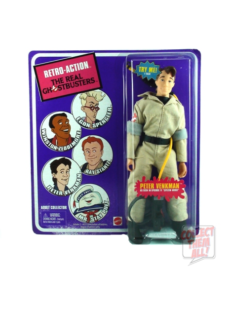 Retro-Action The Real Ghostbuster Peter Venkmen