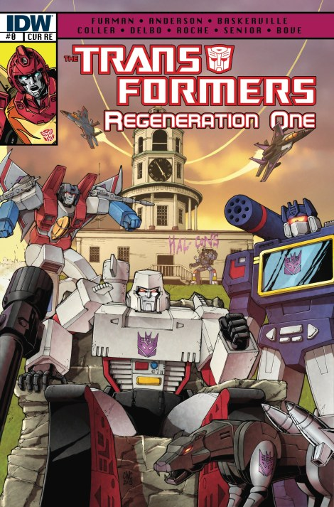 IDW Transformers Regeneration One #0 Giant Robot Comics Exclusive Cover