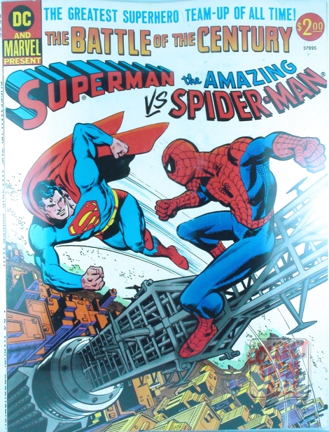 CTA_NYCC_ComicHaul_10132013_SupermanvsSpidermanTreasuryEdition